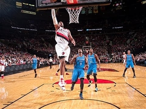 highlights - The Blazers top the Thunder, Hawks sink the Clippers and smoke in Mexico City headline Wednesday's action in the NBA. Visit nba.com/video for more highlights...