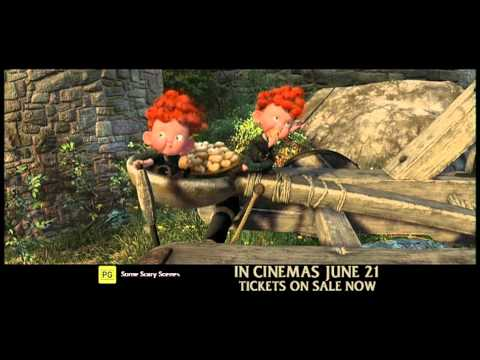 BRAVE - Disney.Pixar - Available on Digital HD, Blu-ray and DVD Now