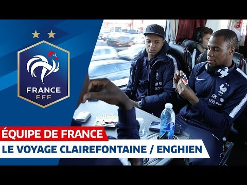 Video Les Bleus à Enghien-les-Bains, Equipe de France I FFF 2018 download in MP3, 3GP, MP4, WEBM, AVI, FLV January 2017