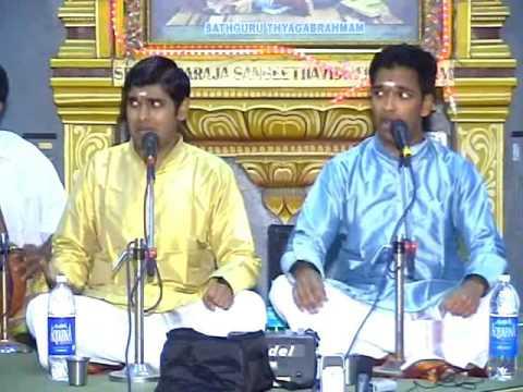Carnatic - Toronto Brothers - Chakravakam Varnam - Adi - Shri S. R. Janakiraman