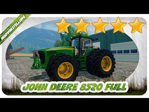 John Deere 8520 FH v2.0 Washable