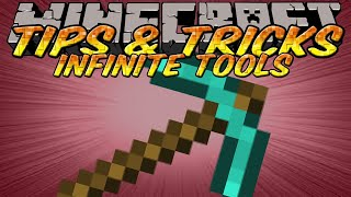 Minecraft Tips and Tricks - Tool conservation - Sword Trick - Swapping tools