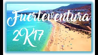 Sun and beach holidays on Canary Islands Fuerteventura 2017 Caleta de Fuste DJI Mavic Pro GoPro 4 Jandia, Costa Calma,...