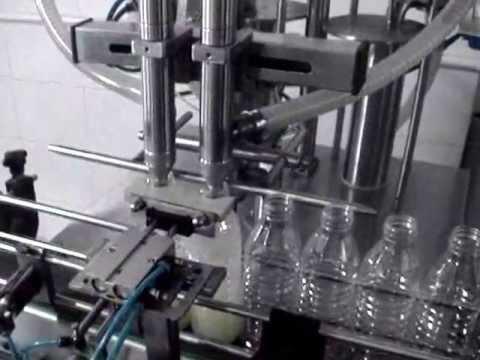 2 Kafalı Tam Otomatik Pnomatik Dolum Makinası