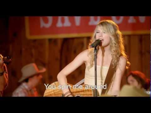 [HD] Taylor Swift - Crazier (Hannah Montana The Movie) [Lyrics On Screen]