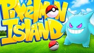 MEGA GENGAR - Minecraft PIXELMON ISLAND - Pokemon QUESTS