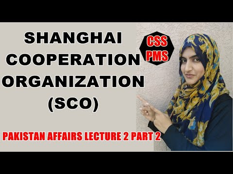 SCO | SHANGHAI COOPERATION ORGANIZATION | THE FUTURE OF SCO | REGIONAL COOPERATION ORGANIZATIONS