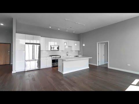 A 2-bedroom, 2-bath penthouse at River North's new Aurélien apartments