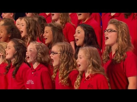 America's Got Talent S09E05 One Voice Children's Choir sing