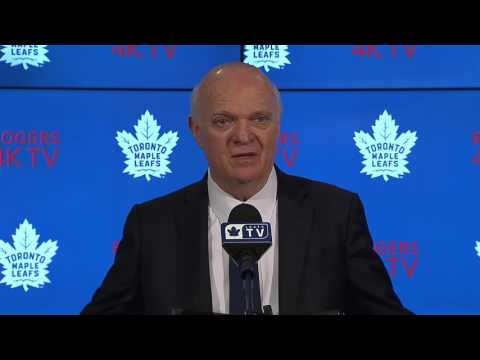 Maple Leafs Locker Clean Out: Lou Lamoriello - April 25, 2017