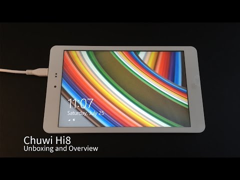 Chuwi Hi8 Windows 8.1 Tablet from Banggood - UK Unboxing and Review