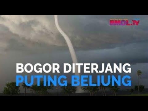 Bogor Diterjang Puting Beliung