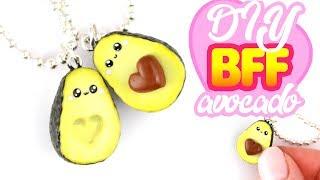 DIY Heart Avocado BFF CHARMS! | KAWAII FRIDAY