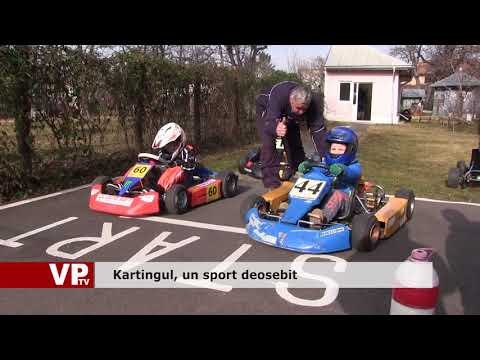 Kartingul, un sport deosebit