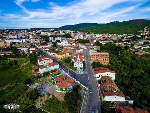 Imagem aérea da Casa Trevo em Campo Formoso, Ba