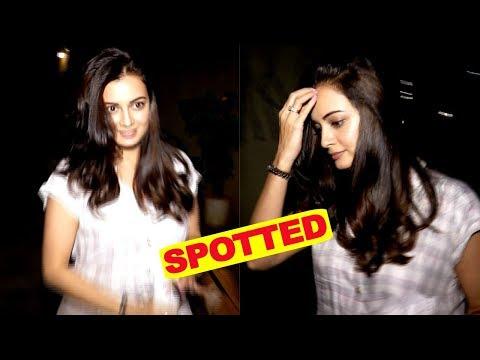 Dia Mirza Spotted At VPLANT Juhu