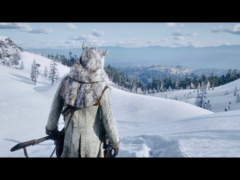 ► Red Dead Redemption 2 PC 4K   Snowy Mountains Gameplay ✪ MAX ULTRA Settings  🔥 RTX™ 2080 Ti