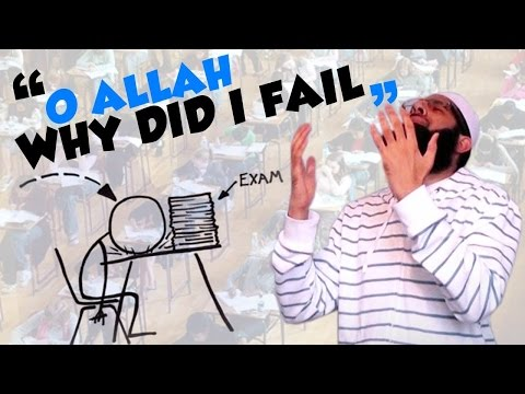 I Worked Very Hard but I Failed My Exams - Mufti Menk