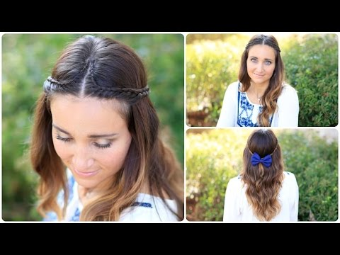 Boho Lace Tieback | Bohemian Chic Hairstyles
