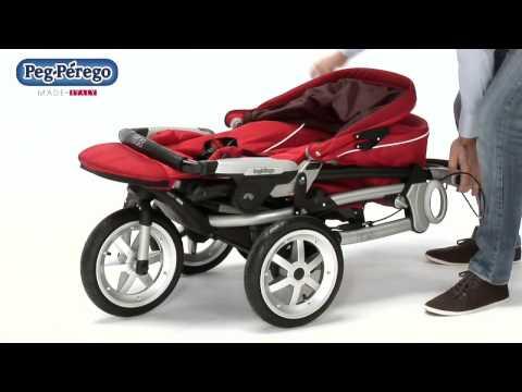 Прогулочная коляска Peg-Perego GT3 Completo EM71, голубой
