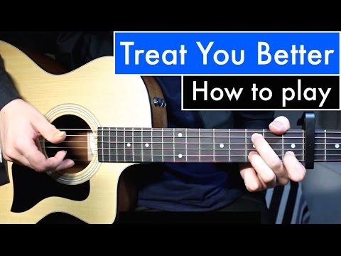 Shawn Mendes – Treat You Better | Guitar Lesson (Tutorial) Easy Chords