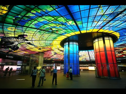 Beautifully Designed Subway Tunnels Around The World 2014 HD 1080p HD
