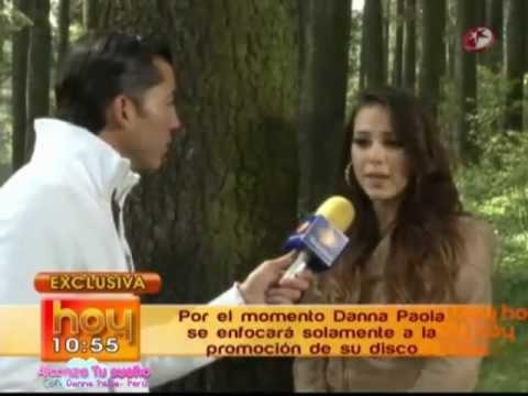 Danna Paola en Grabaciones - Todo fue un Show