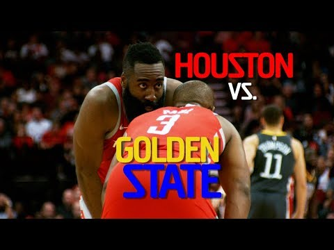 SOUND UP! Warriors vs Rockets!