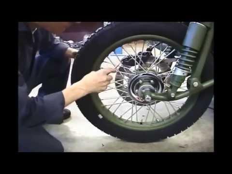 Как заменить спицы на мотоцикле