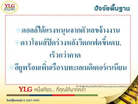 YLG บทวิเคราะห์ราคาทองคำประจำวัน 09-03-15