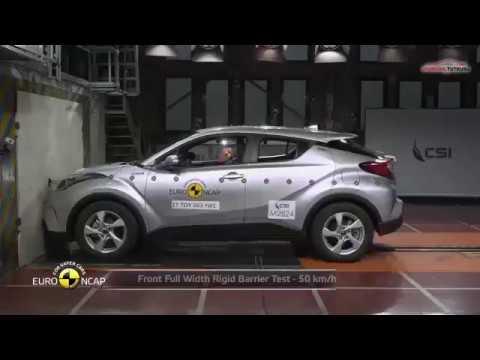 Toyota C-HR Çarpışma Testi