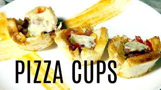 PIZZA CUP | BREAD PIZZA | WITH ERYCA