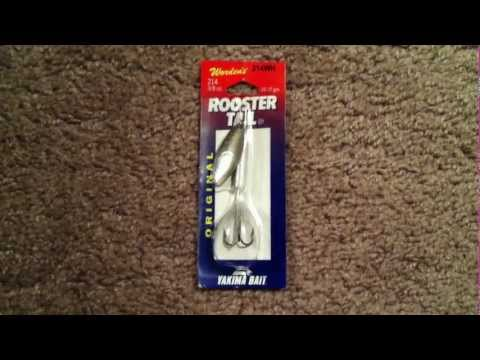 Rooster Tail Bass Fishing Lure Product Review … Bass Catching Machine!!!
