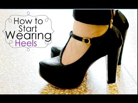 How to start wearing heels {Delhi Fashion Blogger}