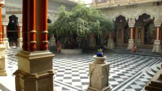 Vrindavan India  City pictures : Inside The Krishna Balaram Temple, Vrindavan, India