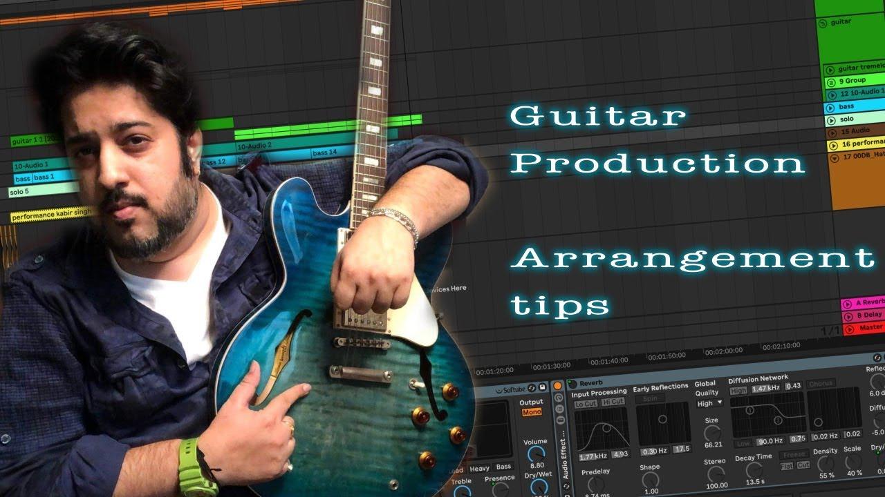 How to Produce Guitars   Bollywood songs   tutorial Raajeev V Bhalla #guitar