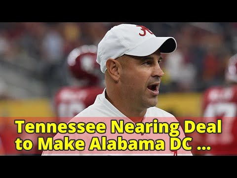 Tennessee Nearing Deal to Make Alabama DC Jeremy Pruitt Next Head Coach