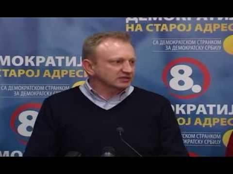 Драган Ђилас: Демократска странка наставља борбу за демократију у Србији