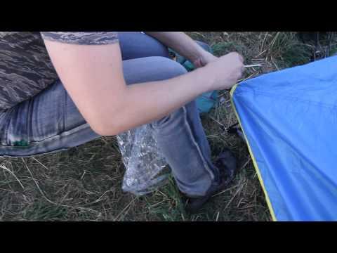 Палатка Alaska «Трек 2». Видеообзор.