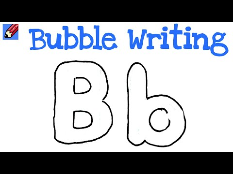 Different Fonts Of Bubble Writing