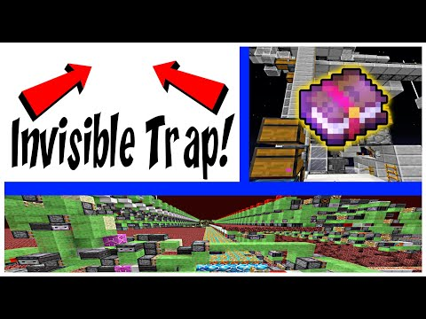Invisible Trap, Quarry and Enchantment Sorter! | ProtoTech SMP #135