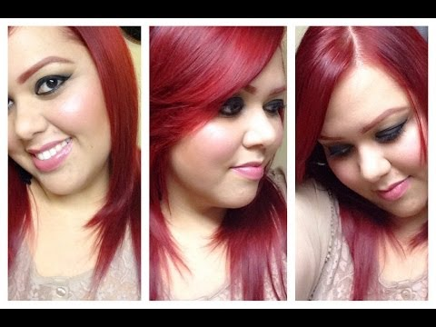 ❤️Cabello Rojo Sin Decolorar ❤️ (Lo q a mi me funcionó) Red Hair (Without Bleach)