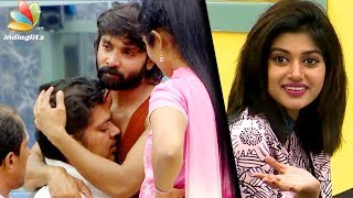 This time Sakthi stole the original diamond and Oviya stole the duplicate one. However, Sakthi cried saying what will his son think about him and gave back the diamond. Again Julie and others started to corner Oviya.Click the below link and subscribe to our Channel for more updates on Tamil Cinema. மேலும் எங்களை ஊக்கப்படுத்த like & subscribe  செய்யுங்கள்.http://www.youtube.com/user/igtamil?sub_confirmation=1