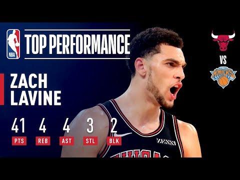 Video: Zach LaVine Records NEW Career High 41 Points! | November 5, 2018