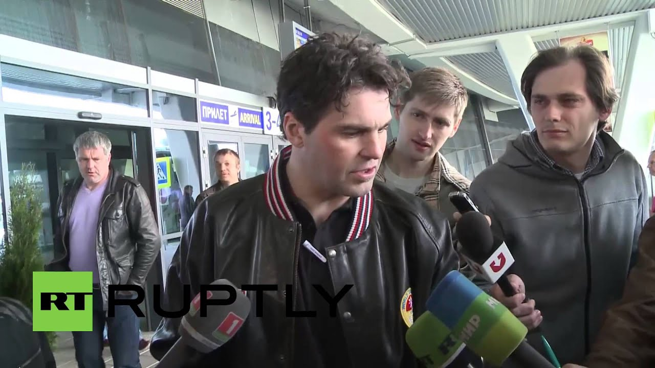 Belarus: Czech hockey team arrive in Minsk for World Championship