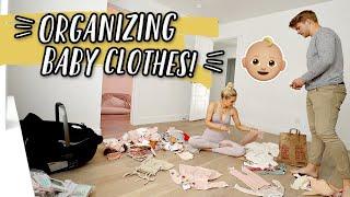 ORGANIZING BABY GIRL'S CLOSET + MINI BUMP UPDATE! by Aspyn + Parker