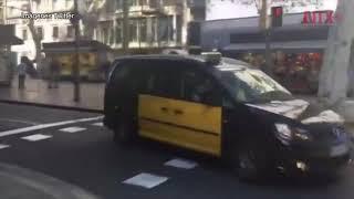 Varios heridos en atropellamiento múltiple en Barcelona