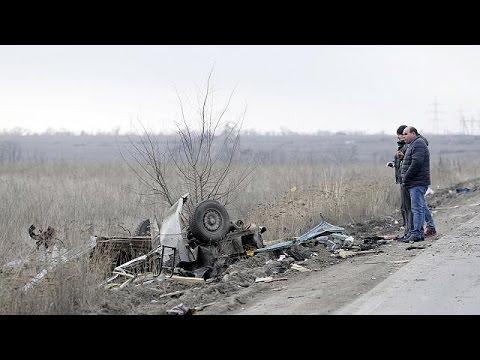 Αν. Ουκρανία: Φονική έκρηξη σε λεωφορείο από νάρκη