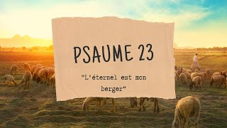 Psaumes 23
