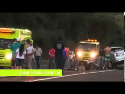 Motorista morre em acidente na BR 277 entre Medianeira e Matelândia
